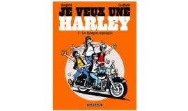 "Harley-Davidson Bande dessinée ""QUINCAS REQUINQUES"""