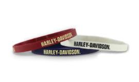 "Harley-Davidson Bracelet souple ""3 COULEURS"""