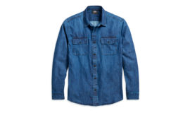 "Harley-Davidson ""SHIRT-DENIM, BLUE, SLIM"""