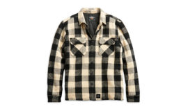 "Harley-Davidson ""SHIRT JACKET-WOVEN,WHITE PLAID"""