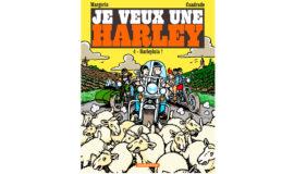 """Harley-Davidson Bande dessinée """"HARLEYLUIA"""""""