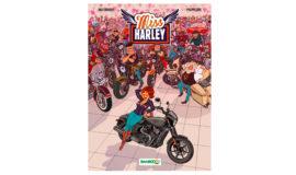 """Harley-Davidson Bande dessinée """"MISS HARLEY """" vol 1"""