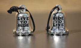 "Harley-Davidson ""Live to Ride"" métal Chromé"