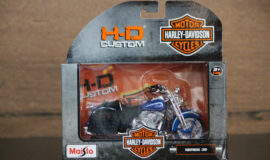 "Harley-Davidson Miniature moto modèle ""SOFTAIL SPRINGER"" Maisto"