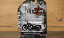 """Harley-Davidson miniature moto """"KNUCKELHEAD"""" Maisto"""