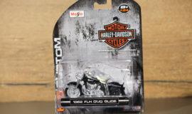 """Harley-Davidson miniature moto """"DUO GLIDE"""" Maisto"""