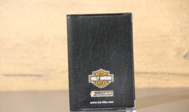 PORTE CARTE GRISE logo concession Harley-Davidson Lille-Europe