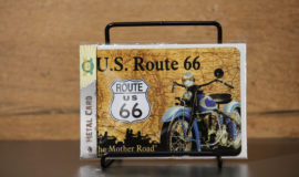 "Harley-Davidson ""METAL CARD ROUTE 66 DRIVE"" carte postale"