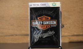 "Harley-Davidson ""METAL CARD GENUINE"" carte postale"
